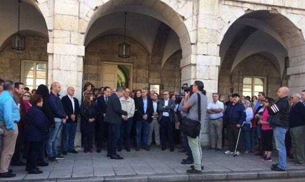 Acto en Cantabria en apoyo compañeros de Alsasua
