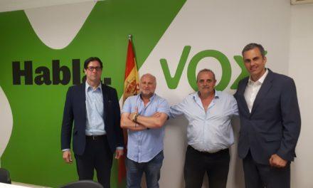 Reunión de UnionGC con el partido político VOX