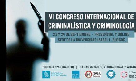 VI Congreso Internacional de criminalística y criminología