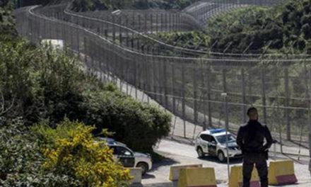 UnionGC denuncia la falta de medios humanos y materiales en la frontera de #Ceuta para frenar asaltos de inmigrantes