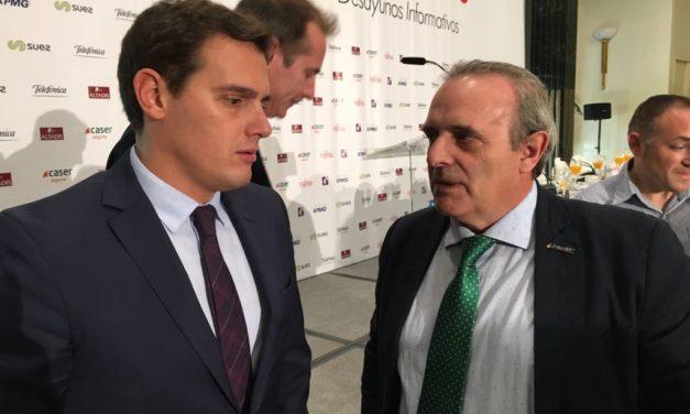UnionGC se reune con el Presidente de Ciudadanos Albert Rivera
