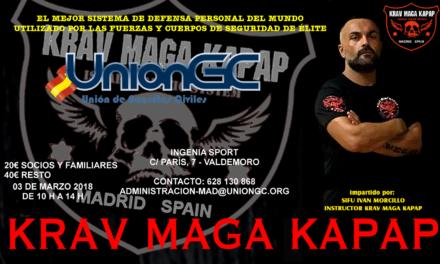 Curso de Krav Maga Kapap de UnionGC