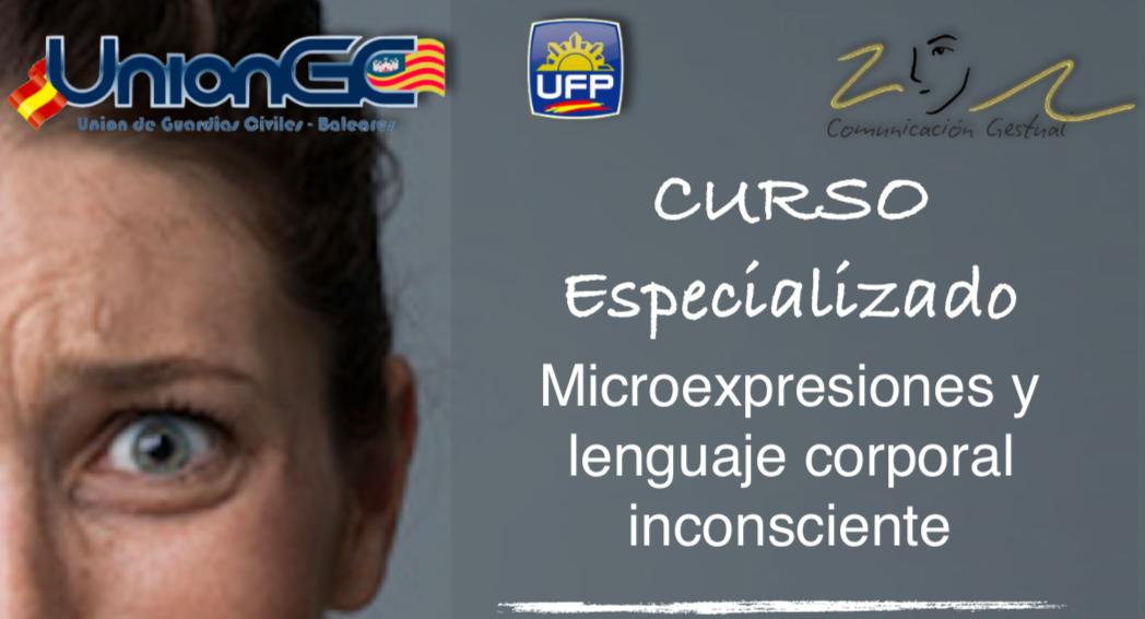 UnionGC organiza el curso sobre lenguaje gestual aplicado a la investigación policial