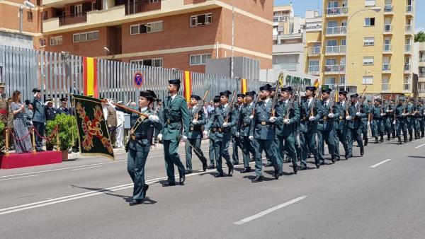UnionGC Baleares critica que no se invitara a agentes retirados o en reserva al acto de los 175 años de la Guardia Civil