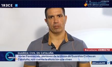 Entrevista con el Secr. Gral. de Unión de Guardias Civiles, UnionGC en Cataluña