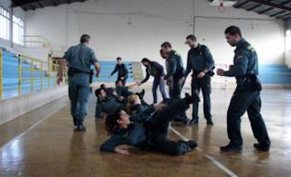 Curso de defensa personal integral de UnionGC en Asturias