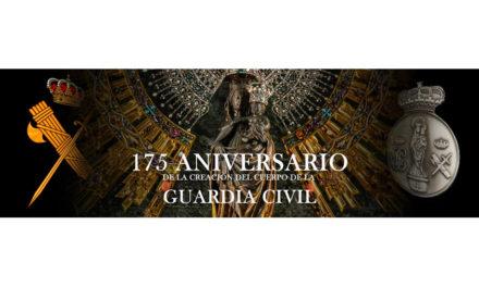 Con motivo del 175 aniversario del Cuerpo, se puede solicitar la medalla conmemorativa de la Virgen del Pilar