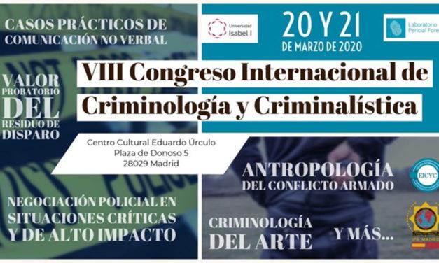 UnionGC colabora en el VIII Seminario Internacional de Criminalística y Criminología de EICYC