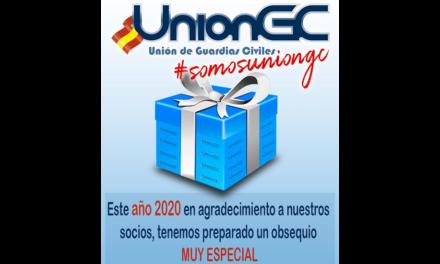 UnionGC entregará a sus afiliados un mágnifico obsequio