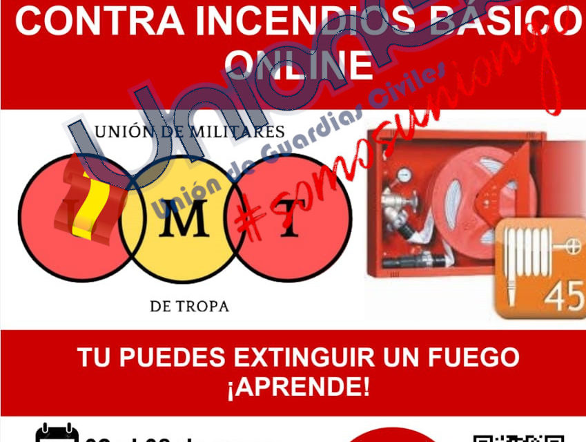 Curso online básico contra incendios