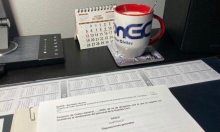 UniónGC muestra postura de rechazo al borrador sobre Productividad de la Guardia Civil