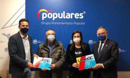 Reunión de UniónGC con el Grupo Parlamentario Popular