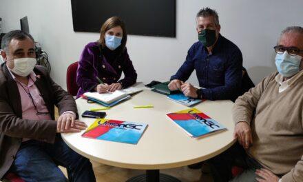 EL PARTIDO REGIONALISTA DE CANTABRIA RECIBE A UNION DE GUARDIAS CIVILES EN EL PARLAMENTO