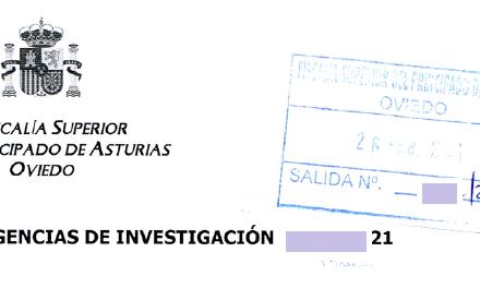 Admisión a trámite de la denuncia de Oviedo por injurias en redes sociales.