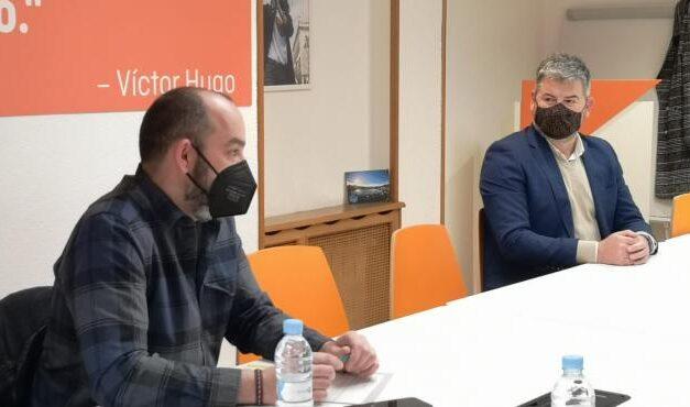 Reunión UniónGC-Asturias con el Secretario de Organización de CS Asturias y la Concejala de CS en Siero