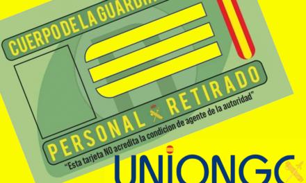 Es una realidad: la concesión de la tarjeta de retirado de la Guardia Civil