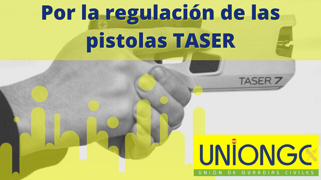 UnionGC por la regulación de las pistolas Taser
