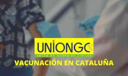 UnionGC denuncia públicamente el agravio a la Guardia Civil por la vacunación en Cataluña