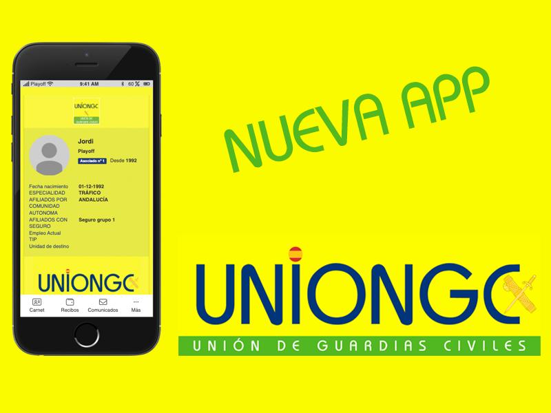 Nueva APP de UnionGC para la gestión de los asociados.