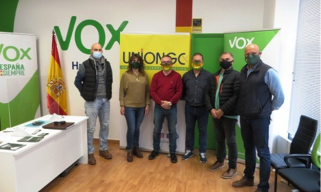 UNIÓN DE GUARDIAS CIVILES SE REÚNE CON REPRESENTANTES DE LA FORMACIÓN POLÍTICA VOX EN HUESCA