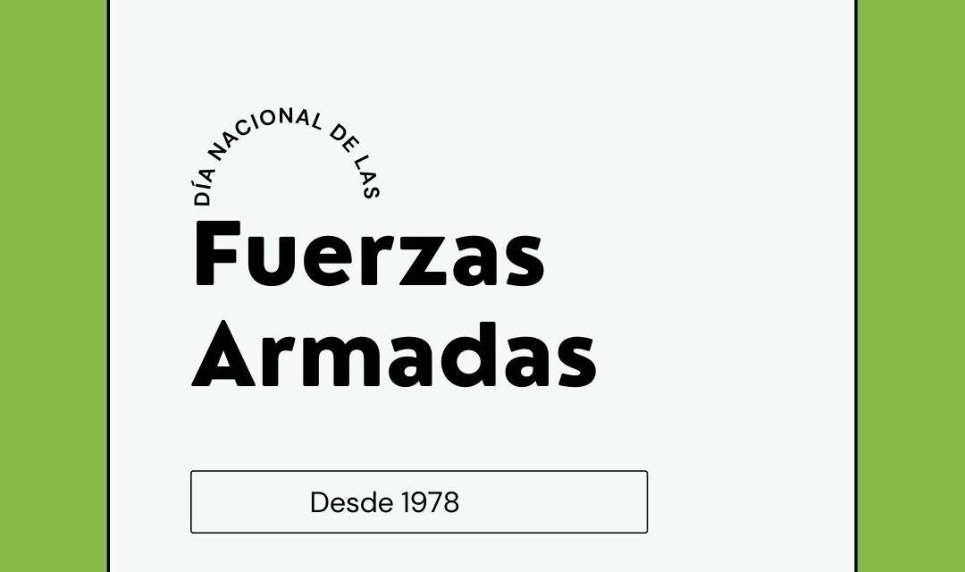 Día Nacional de las Fuerzas Armadas