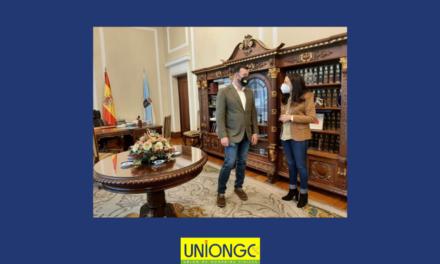 UnionGC se reúne con Isabel Rodríguez, Subdelegada del Gobierno en Lugo