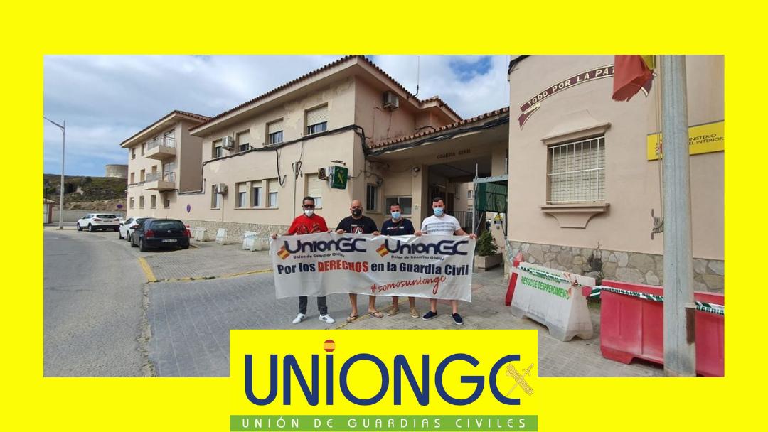 UnionGC exige la rehabilitación de diferentes cuarteles por el bienestar de los Guardias Civiles