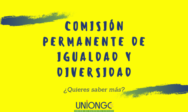 Comisión permanente de igualdad y diversidad
