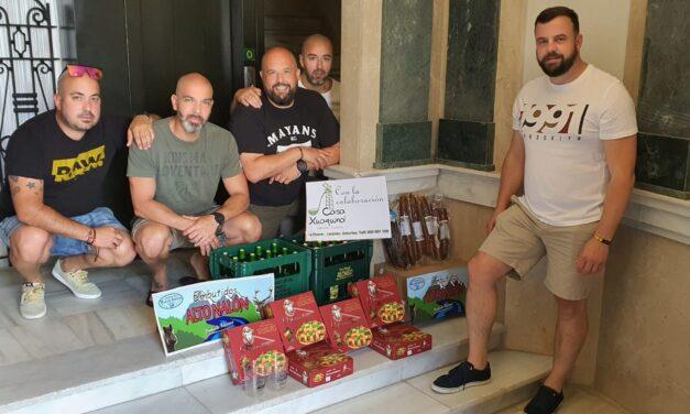 UnionGC cargando las pilas de los compañeros en Ceuta