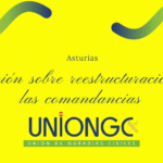 Reunión Coronel Jefe de la Zona de Asturias sobre fusión de las Comandancias de Oviedo y Gijón
