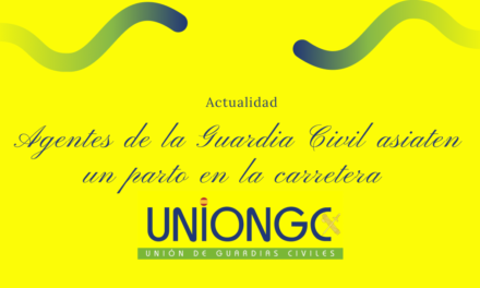 Guardias Civiles asisten un parto en la carretera entre Herrera del Duque y Villanueva