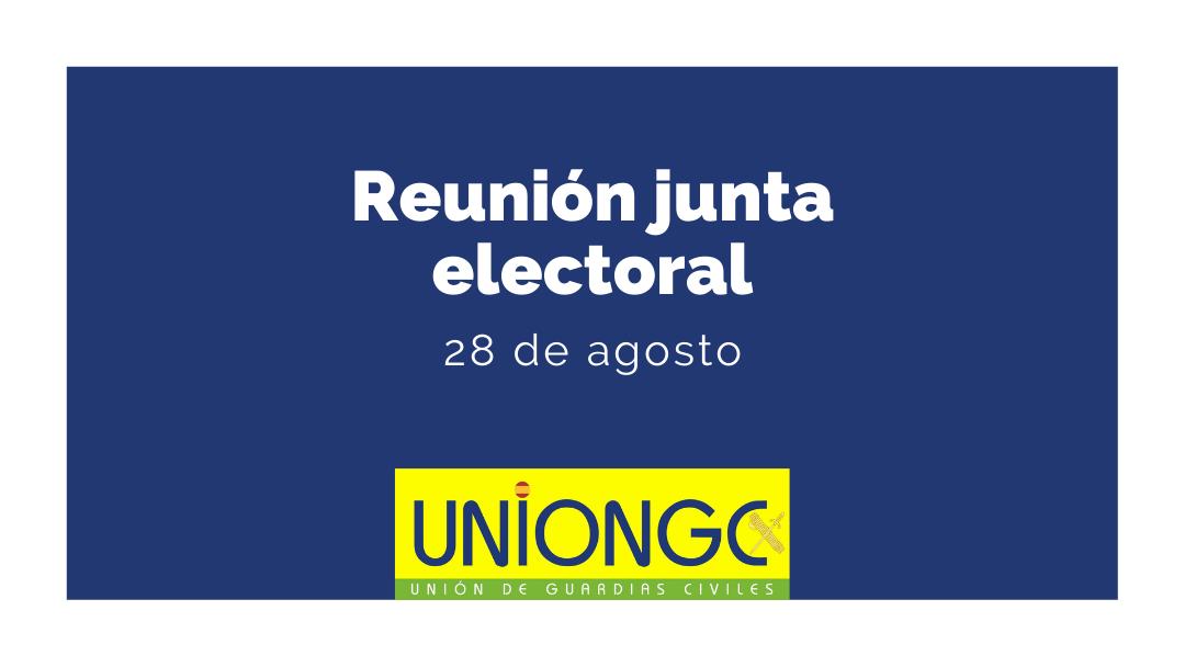 Reunión junta electoral
