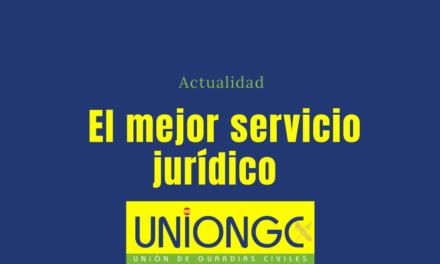 El servicio jurídico de UnionGC sigue luchando por los derechos de los Guardias Civiles