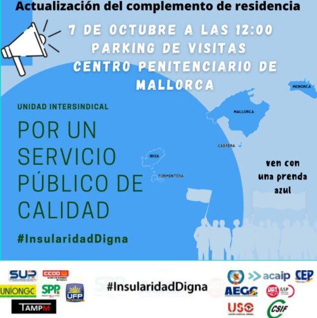 UnionGC por una Insularidad Digna