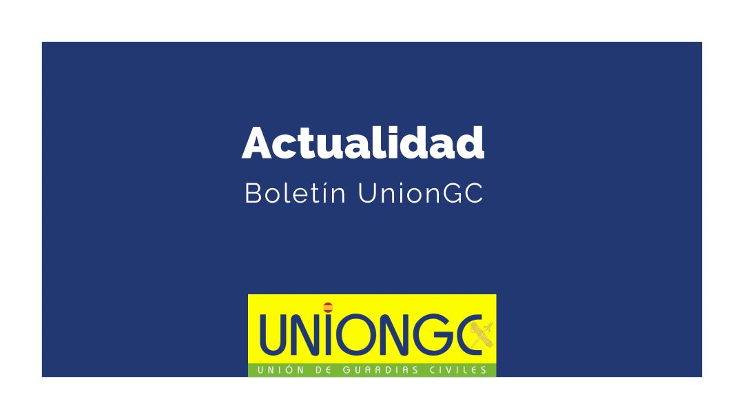 UnionGC pone a tu disposición el BOLETÍN