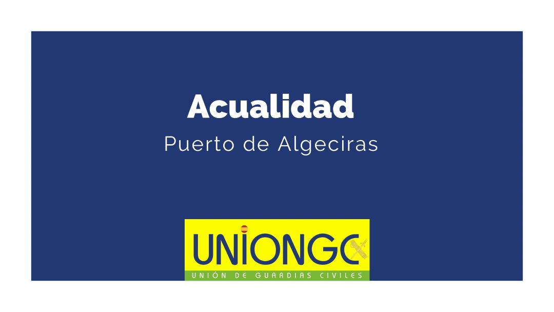 Los agentes de la Guardia Civil interceptan dos vehículos de alta gama en un contenedor en el puerto de Algeciras