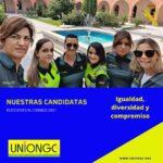 Una lucha histórica, las mujeres en la Guardia Civil y ahora por la UnionGC llenarán el consejo de la Guardia Civil.